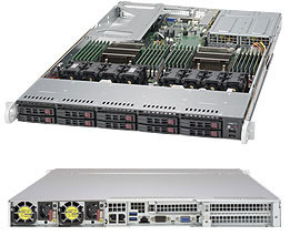 SERVER SUPERSERVER 1028U-TNR4T+ E5-2600 v3 family