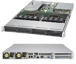 SERVER SUPERSERVER 6018U-TR4T+  Dual socket R3