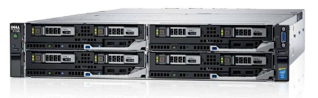 SERVER DELL POWEREDGE FX2S 4 NODE - 8 x XEON E5 2683V3