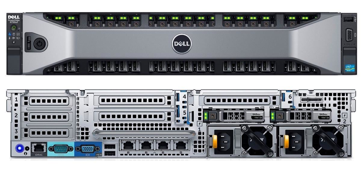MÁY CHỦ DELL™ POWEREDGE™ R730xd E5-2660 v3