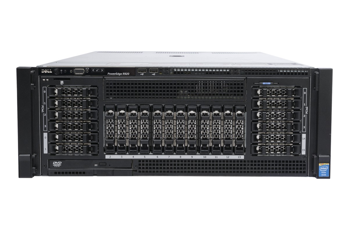 MÁY CHỦ DELL™ POWEREDGE™ R920 E7- 4809 V2