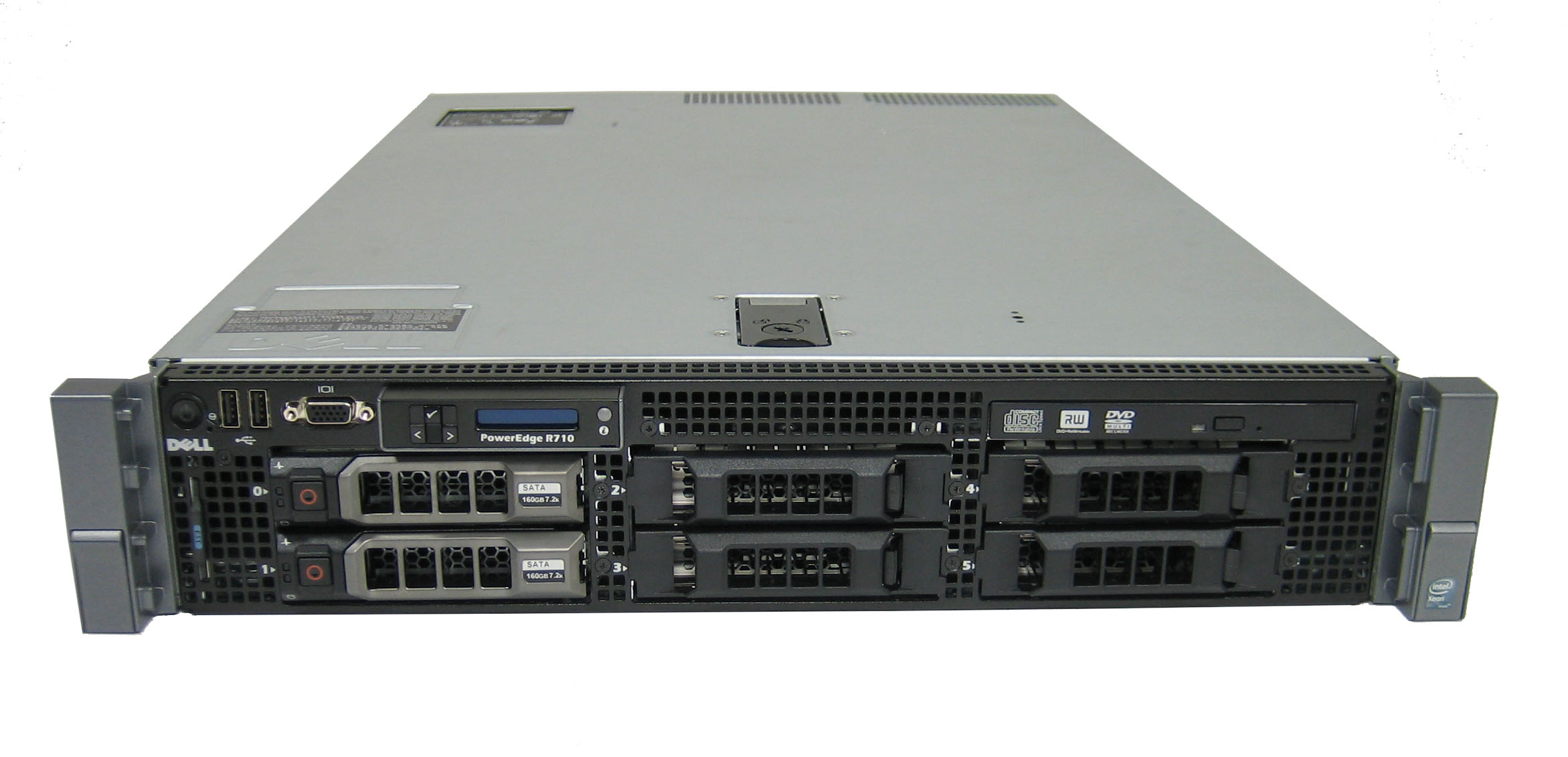 SERVER DELL POWEREDGE R710, 6 CORE PROCESSOR E5645 2.4GHZ 12MB CACHE