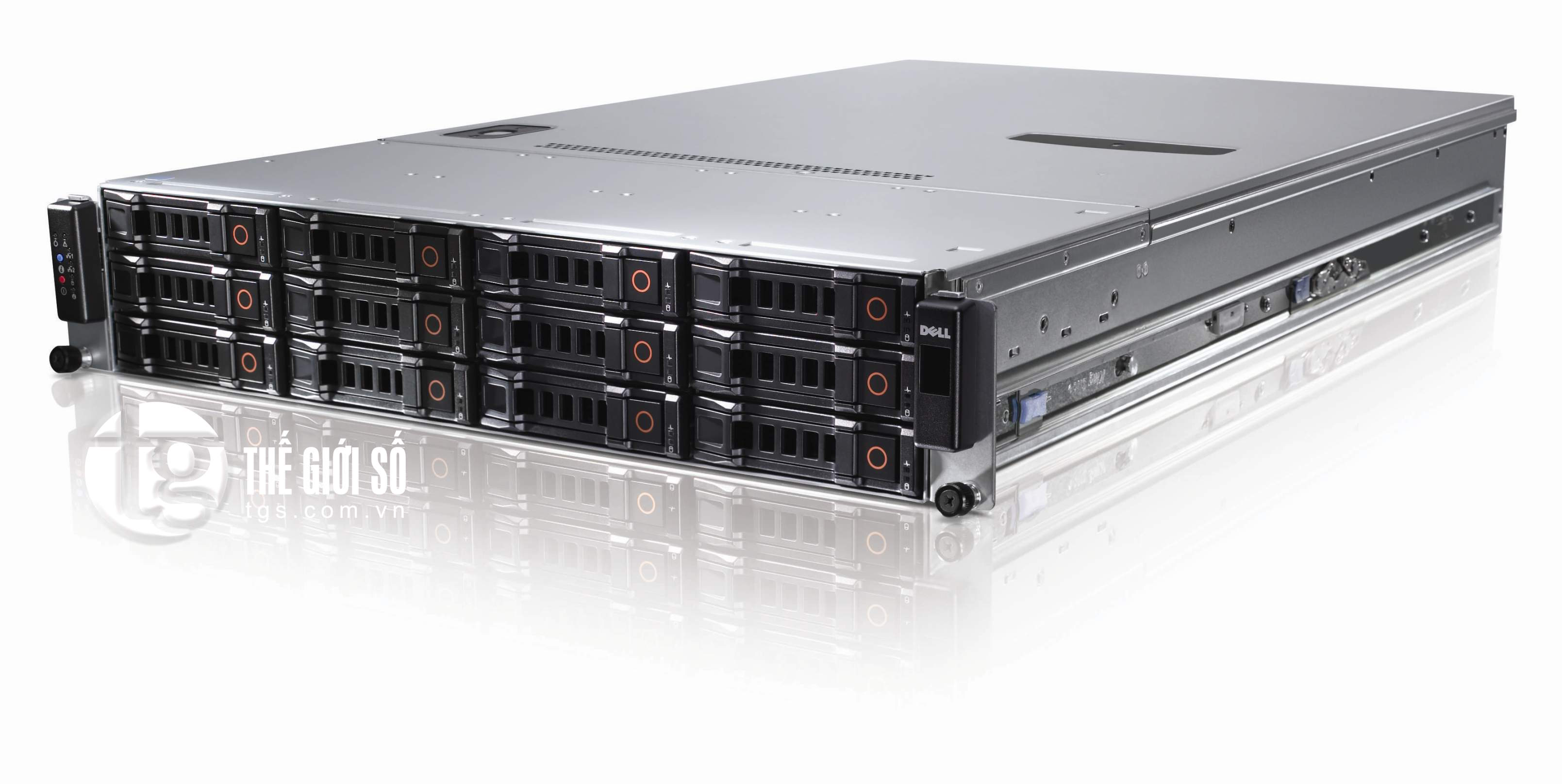 SERVER DELL POWEREDGE C2100 XEON 6-CORES X5660 CŨ