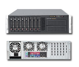 SERVER Supermicro Z420 Rack 3U X9 Workstation E5-1620v2