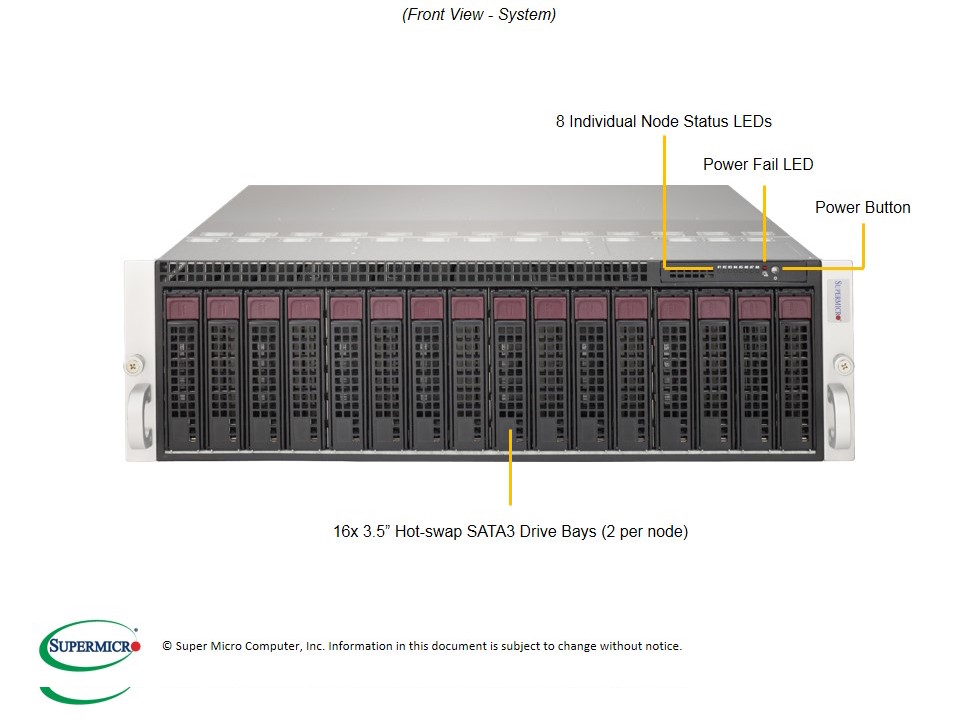 SERVER MicroCloud SuperServer 5037MC-H8TRF
