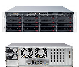 SERVER SuperStorage Server 6037R-E1R16L