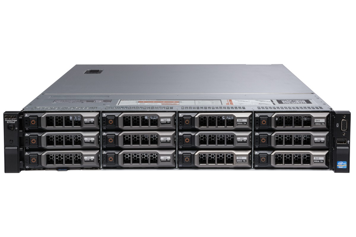 MÁY CHỦ DELL™ POWEREDGE™ R720xd E5-2620 v2