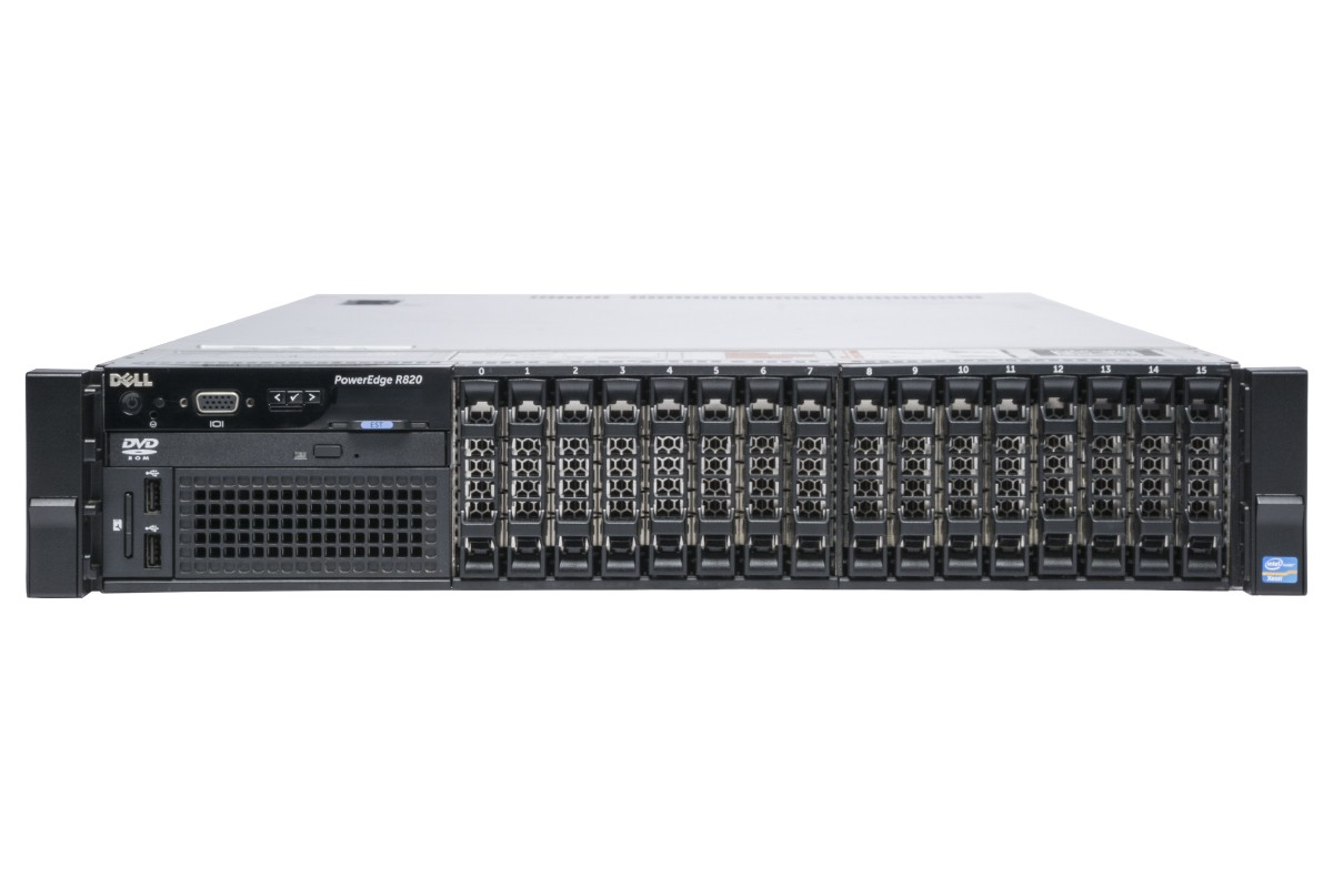 MÁY CHỦ DELL™ POWEREDGE™ R820 E5-4650 v3